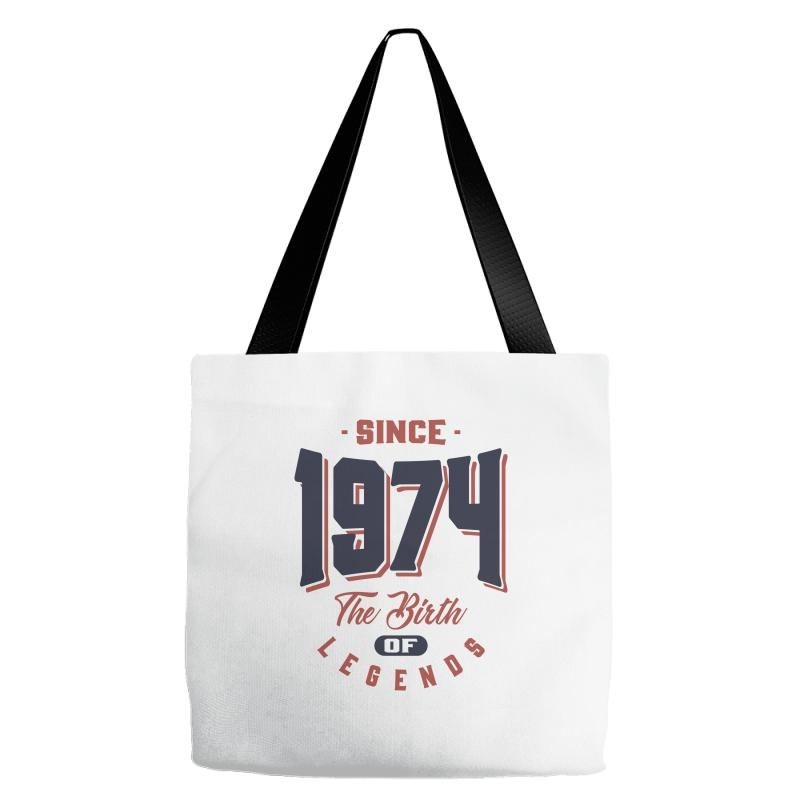 Since 1974 The Birth Of Legends Birthday Gift Tote Bags | Artistshot