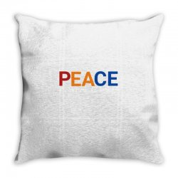 Word inspiring peace always comes aroundq Throw Pillow | Artistshot