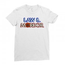 law and mordor Ladies Fitted T-Shirt   Artistshot
