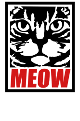 funny cat meow   Artistshot