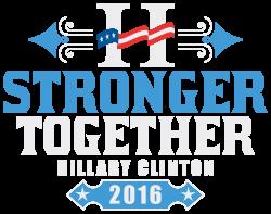 Stronger Together Hillary Clinton   Artistshot