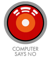 computer says no funny geek game | Artistshot