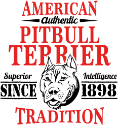 06371c767e1a0 Authentic American Pit Bull Terrier Tradition T-shirt Designed By Tshiart