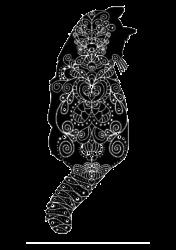 cats black | Artistshot