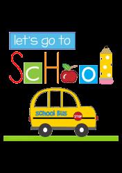 Let's go to school | Artistshot