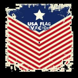 USA Flag Vector | Artistshot