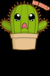 funny cactus hug | Artistshot
