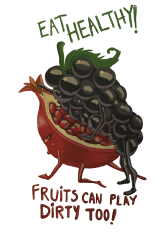 eat fruits   Artistshot