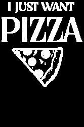 i just want pizza   Artistshot