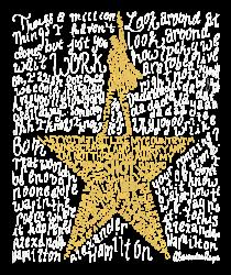 Hamilton Typography | Artistshot