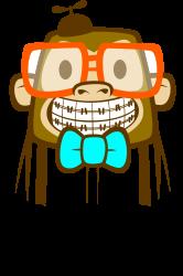 geek monkey | Artistshot