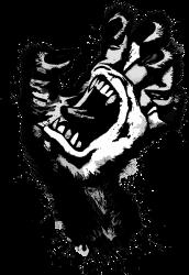 screaming hand werewolf | Artistshot