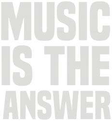 music is the answer | Artistshot