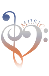 music expresses clef heart girls | Artistshot