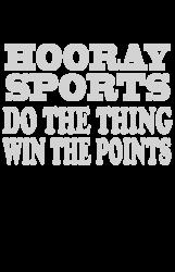 hooray sports win points | Artistshot