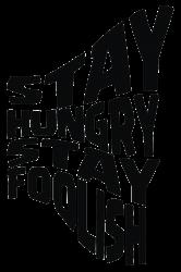 stay hungry stay foolish | Artistshot
