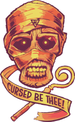 the cursed mummy | Artistshot