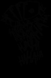 Custom Joker Tattoo Haha T Shirt By Budi Artistshot