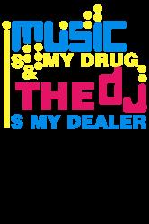 music is my drug | Artistshot