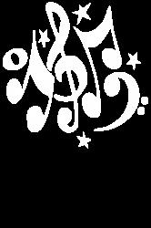 music notes#4 rock design graphic band | Artistshot