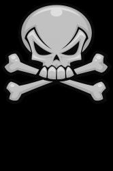 6f5dc6d6917988 Shop Skull And Crossbones T-shirts Online   Custom Skull And ...