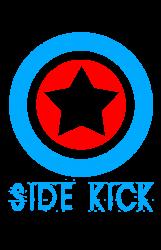 6effdc30c Side Kick American Superhero Matching Shirt Or One Piece Set T-shirt  Designed By Mdk