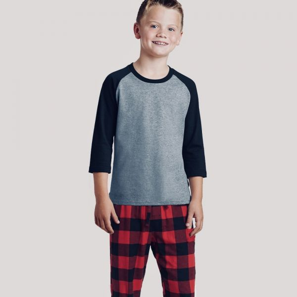 2020 Shop Youth 3/4 Sleeve Pajama Set  &   Youth 3/4 Sleeve Pajama Set