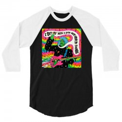 Flaming Lips 3/4 Sleeve Shirt | Artistshot
