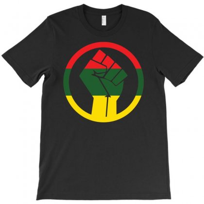 Rastafarian Black Power T-shirt Designed By S4poolart
