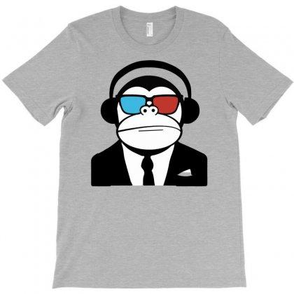 Ape Monkey Club Electro T-shirt Designed By S4poolart