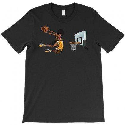 Basketball T-shirt Designed By S4poolart