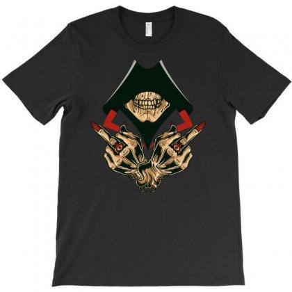 Assassin's Skull T-shirt Designed By S4poolart