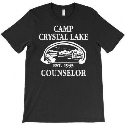 Camp Crystal Lake Counselor T-shirt Designed By S4poolart