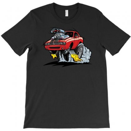 Hot Road T-shirt Designed By S4poolart