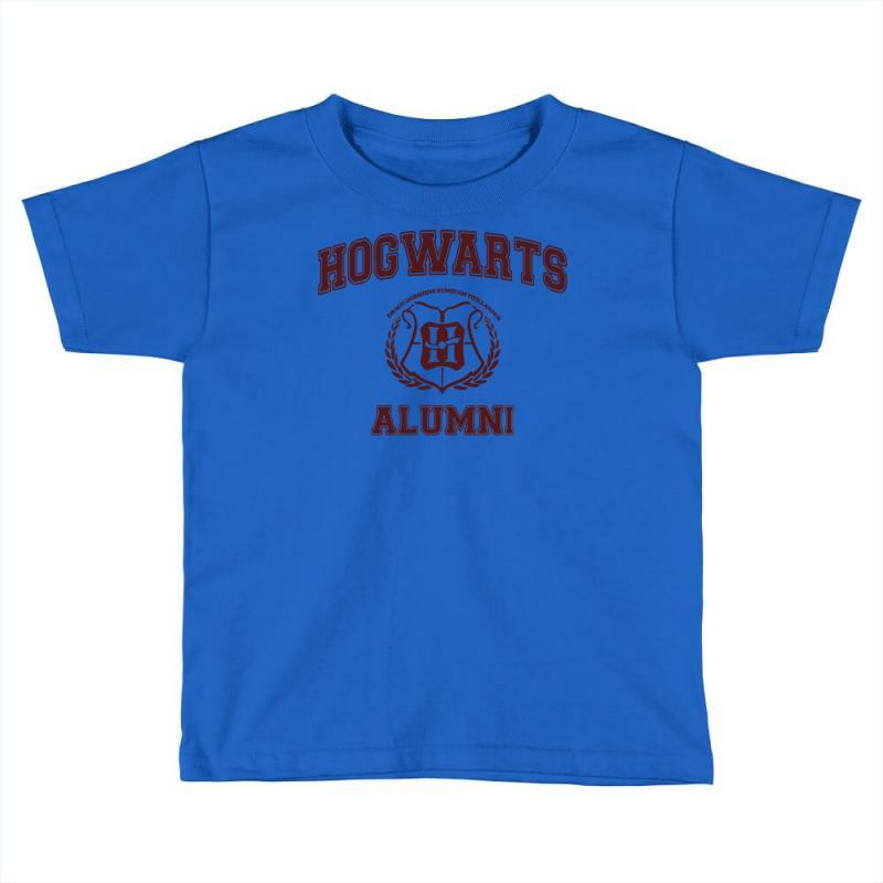 2742bf3fe5 Custom Hogwarts Alumni Toddler T-shirt By Ismanurmal4 - Artistshot
