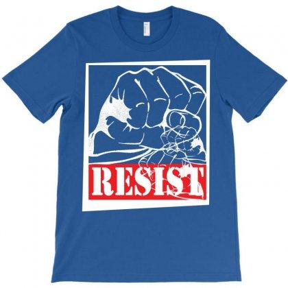 Resist T-shirt Designed By Designbysebastian