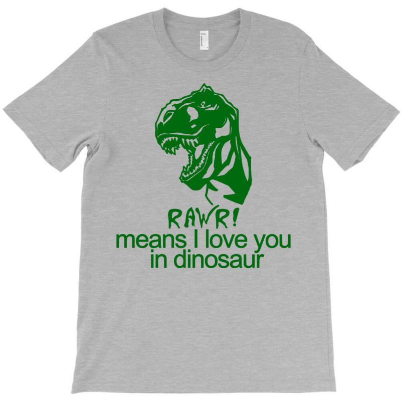 Rawr Means I Love You In Dinosaur T-shirt | Artistshot
