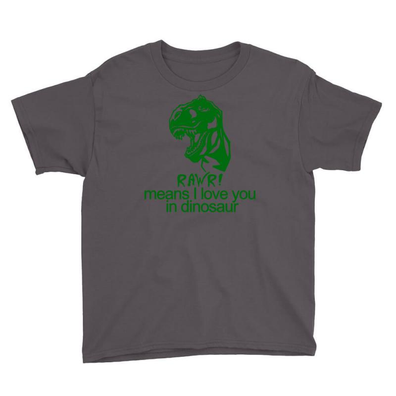 Rawr Means I Love You In Dinosaur Youth Tee | Artistshot