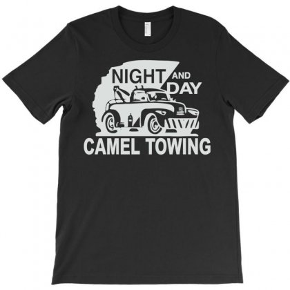 Night And Day Camel Towing T-shirt Designed By Meid4_art
