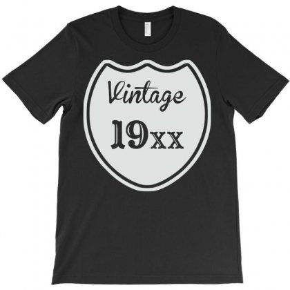 Vintage Custom Birth Year T-shirt Designed By Meid4_art