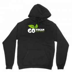 go vegan and saves animals Unisex Hoodie | Artistshot