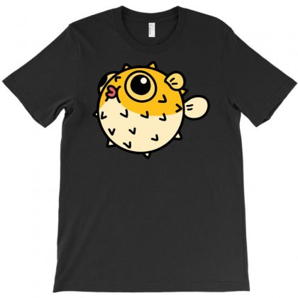 Pufferfish T-shirt Designed By Nurhidayat05