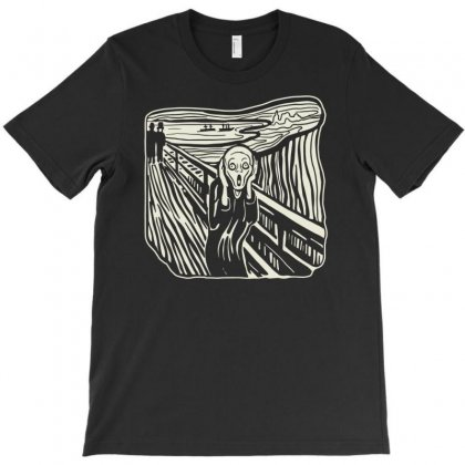The Scream T-shirt Designed By Nurhidayat05