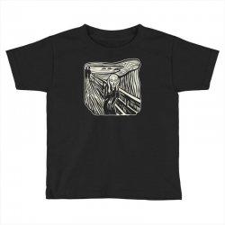 the scream Toddler T-shirt | Artistshot