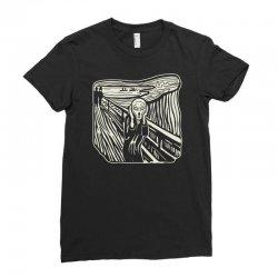 the scream Ladies Fitted T-Shirt | Artistshot