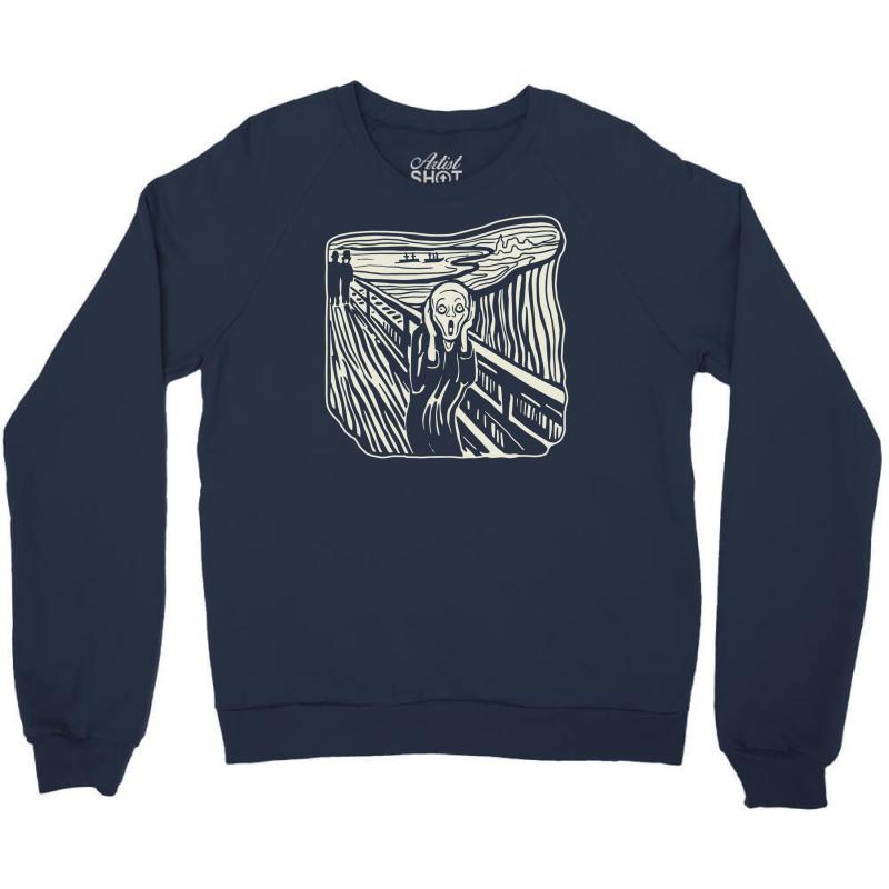 The Scream Crewneck Sweatshirt | Artistshot