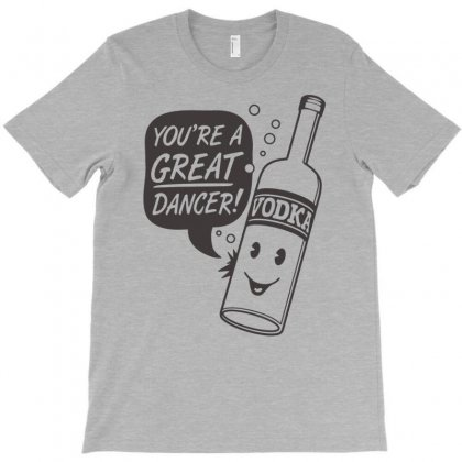 Vodka Dancer T-shirt Designed By Nurhidayat05