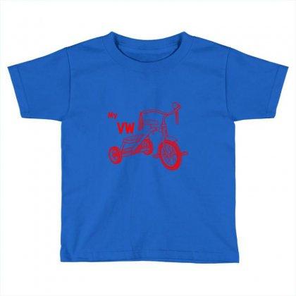 My Vw Bike Toddler T-shirt Designed By Rardesign