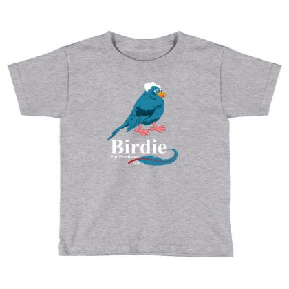 Birdie  Sanders Toddler T-shirt Designed By Rardesign