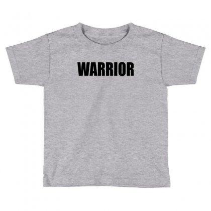 Warrior Toddler T-shirt Designed By Killakam